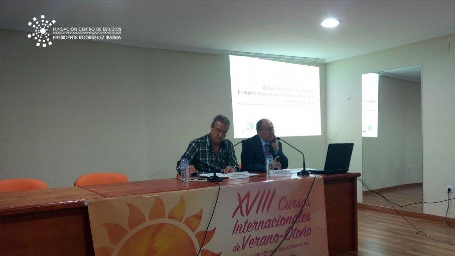 Conferencia de Miguel Ángel Melón Jiménez